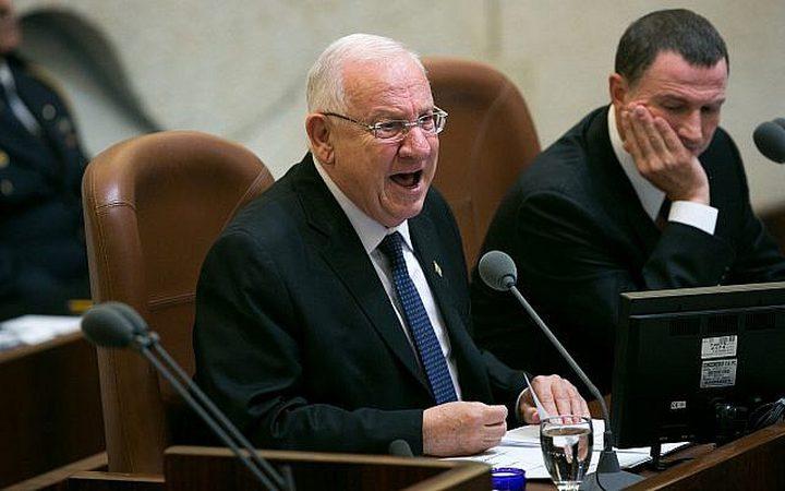 مشروع قانون للحد من سلطة الرئيس في اسرائيل