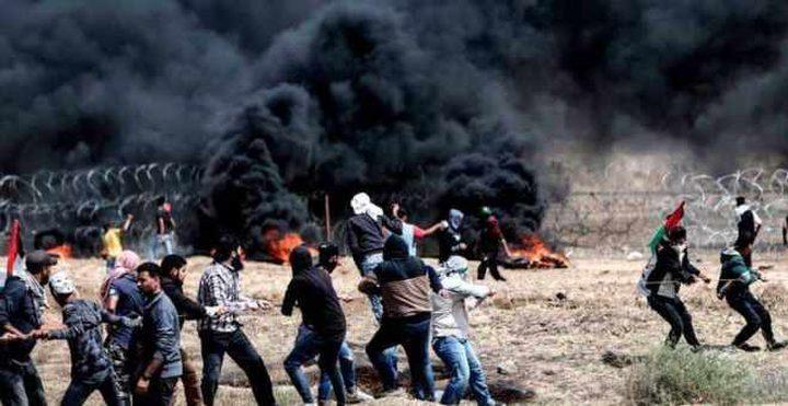 الاحتلال: 15مواطنًا اقتحموا السياج الفاصل شرق غزة