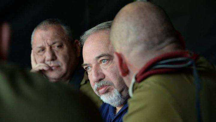 ليبرمان يجري جلسة أمنية جديدة بعد عملية غزة