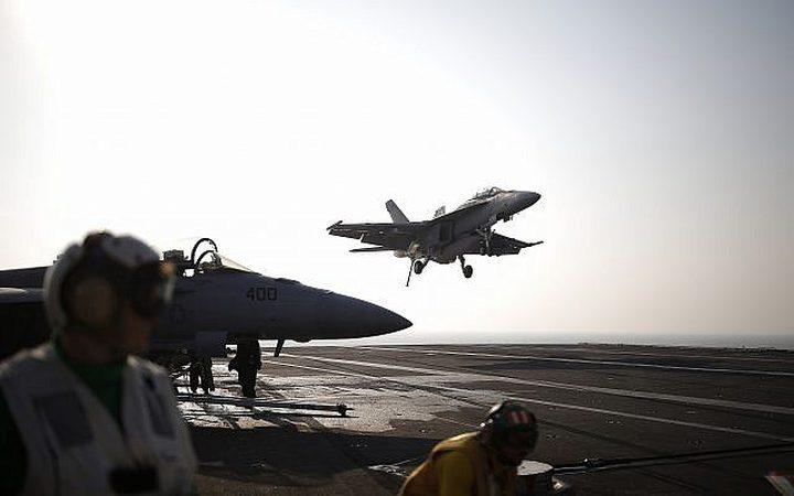 تحطم مقاتلة أمريكية قبالة السواحل اليابانية