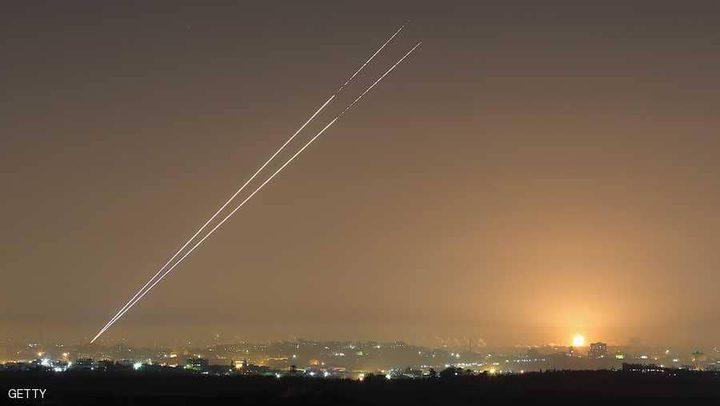 الاحتلال يرصد 370 قذيفة أطلقت من غزة