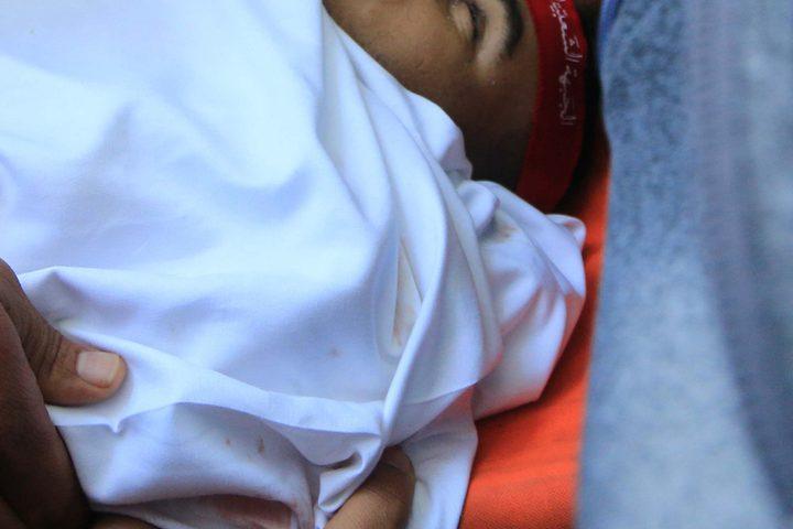 تشييع جثمان الشهيد محمد زكريا اسماعيل التتري 27 عاما الذي استشهد جراء التصعيد الاسرائيلي على قطاع غزة.