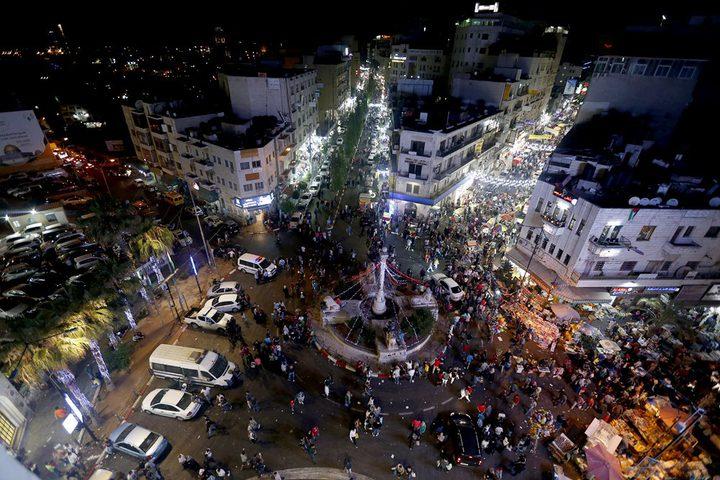 رام الله تتضامن مع غزة