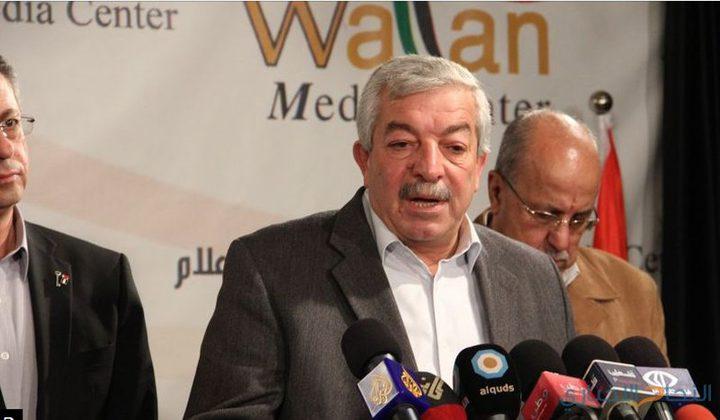 العالول: خلافاتنا مع حماس ثانوية