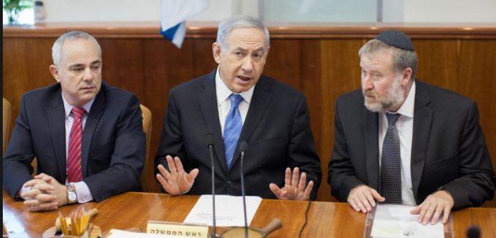 نتنياهو سيترأس وزارة الحرب  بعد ليبرمان