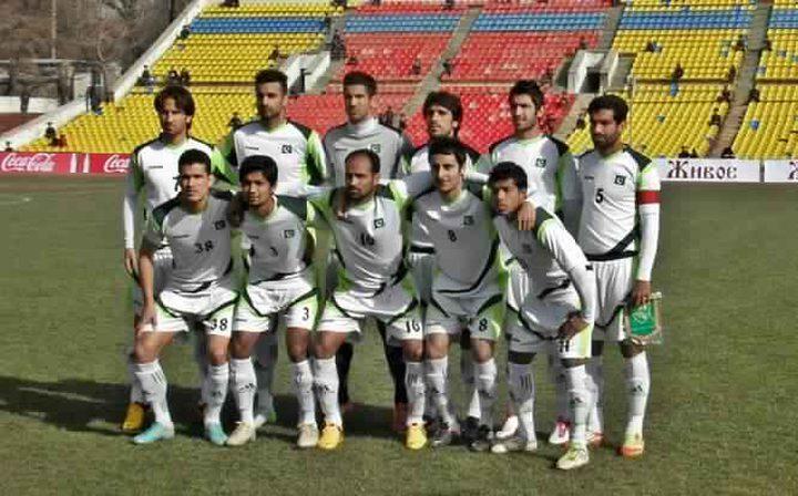 وصول بعثة باكستان لكرة القدم إلى رام الله