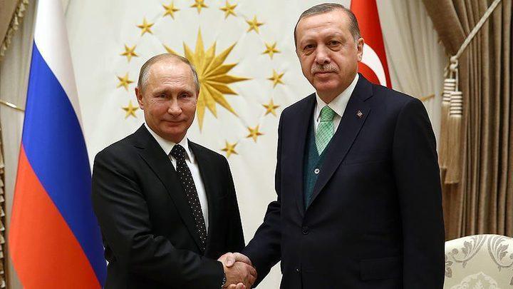 أردوغان وبوتين يبحثان اللجنة الدستورية السورية