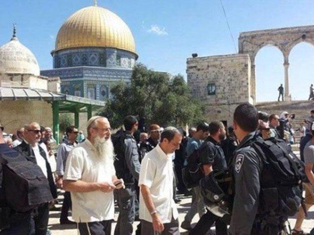 مستوطنون يستأنفون اقتحاماتهم للمسجد الاقصى