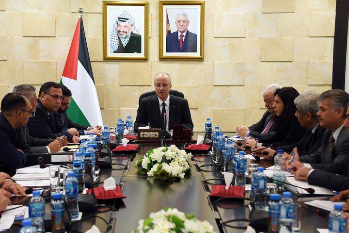 رئيس الوزراء رامي الحمد الله يلتقي المجلس التنسيقي للنقابات والاتحادات المهنية والقطاعية