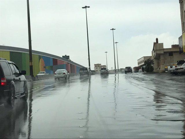 أمطار غزيرة تجتاح مصر