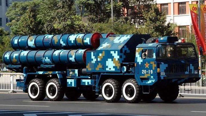 """الصين تطور نسختها من """"اس-300"""" الروسية"""