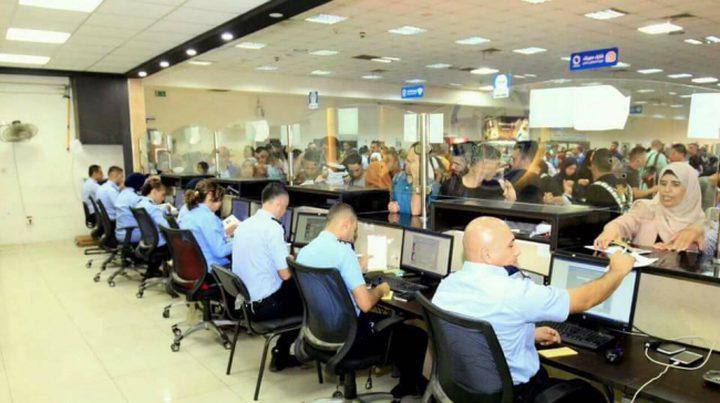 31 ألف مسافر تنقلوا عبر معبر الكرامة وتوقيف 76