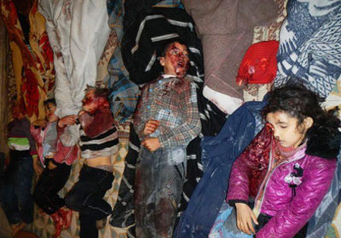 مقتل 5 أطفال جراء انفجار لغم في سوريا