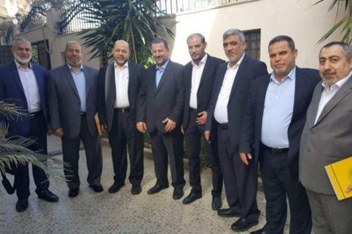 وفد حماس يغادر القاهرة بعد استكمال مشاوراته