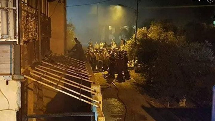 مصرع طفلين جراء اندلاع حريق بمنزل في الخليل