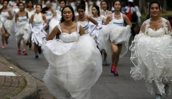 سباق العرائس فى تايلاند.. والجائزة (60) ألف دولار