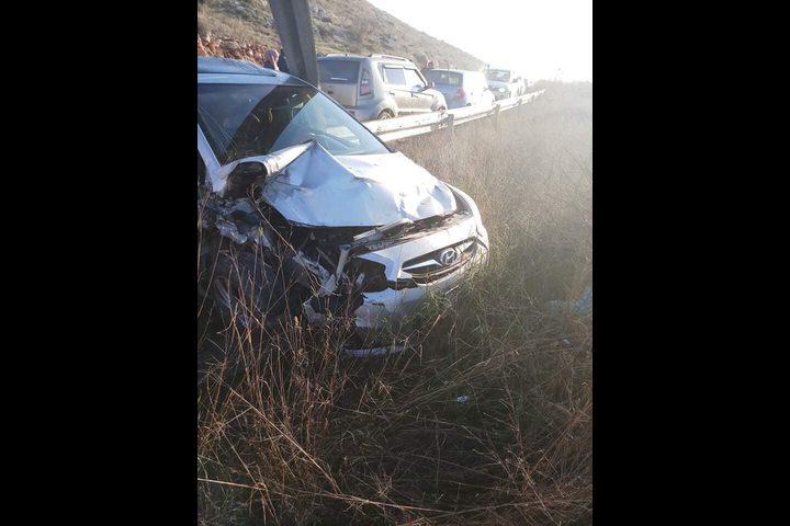إصابة 4 سيدات في حادث تصادم ذاتي على شارع عصيرة