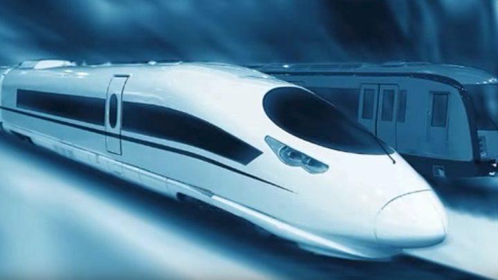 الصين تحفر أول نفق بحري زجاجي للقطارات السريعة