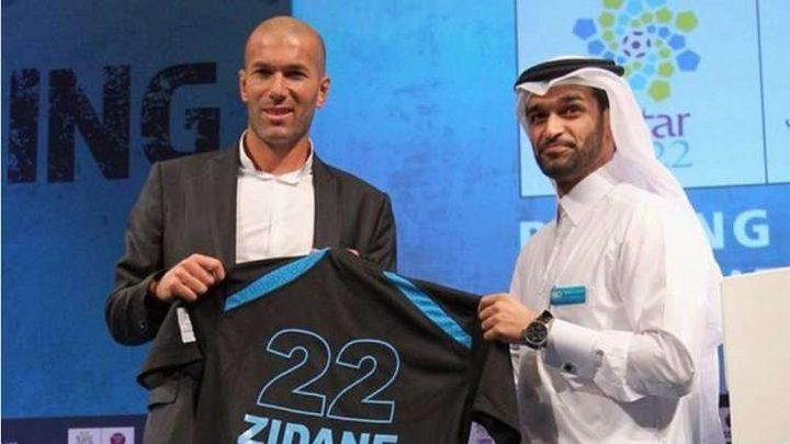 هل سيدرب زيدان المنتخب القطري ؟