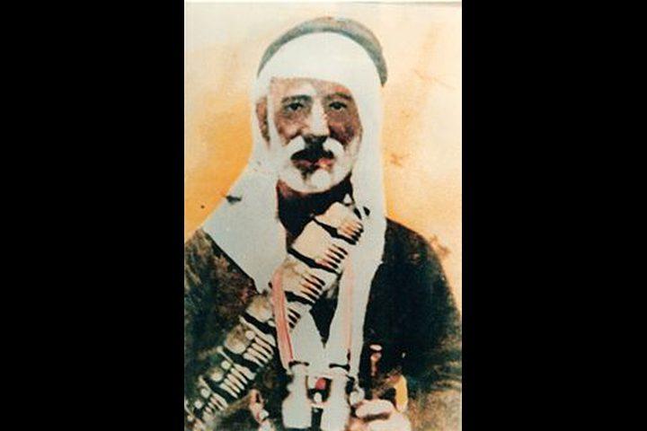 تنفيذ حكم الاعدام بالشيخ فرحان السعدي عام 1937