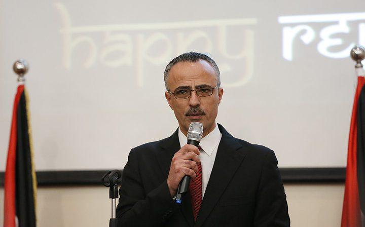 أبو دياك يلتقي سفير المملكة الأردنية الجديد