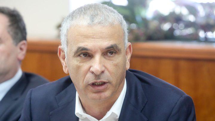 كحلون يحاول حل عجز ميزانية اسرائيل قبل نهاية العام