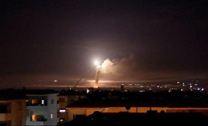 الدفاعات الجوية السورية تتصدى لأهداف معادية