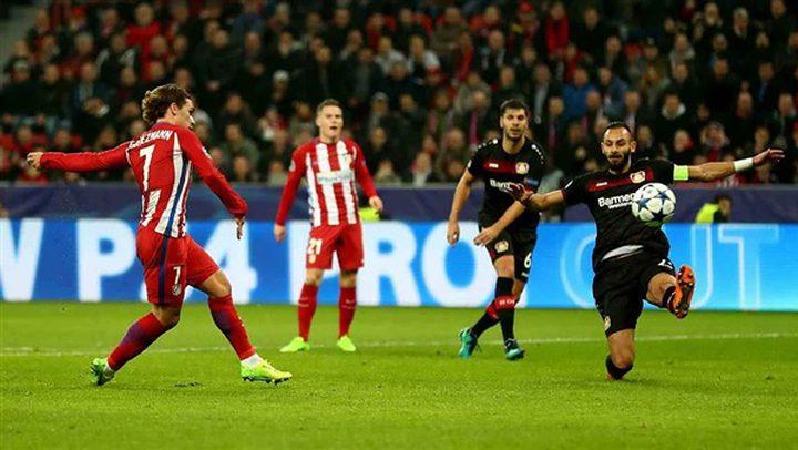 أبطال أوروبا..أتلتيكو مدريد إلى الدور ثمن النهائي