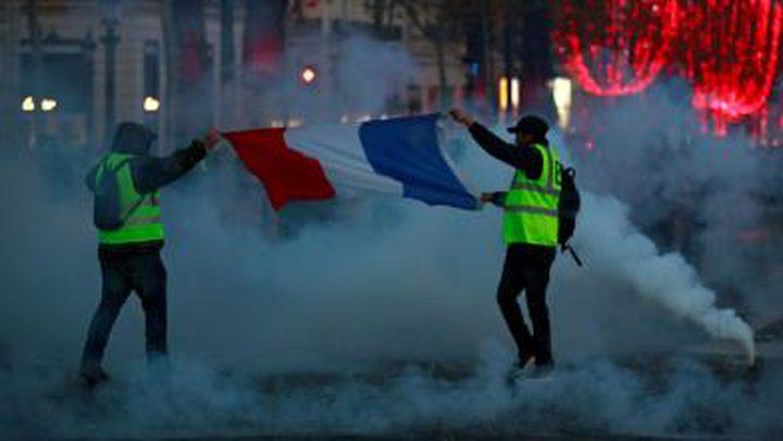 اشتباكات بين الشرطة والمحتجين في بلجيكا
