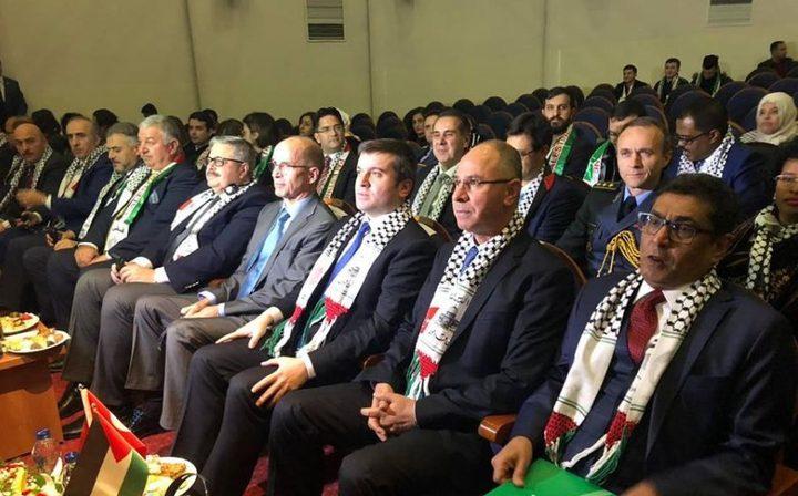 سفارة فلسطين بتركيا تحيي يوم التضامن مع شعبنا