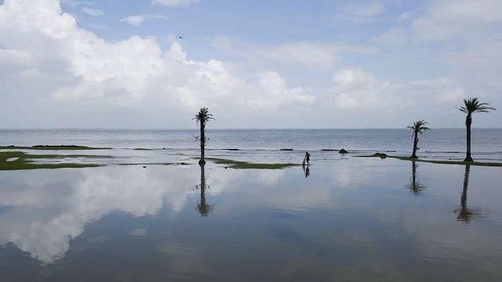 """المياه """"تلتهم"""" جزيرة هندية وترعب سكانها"""