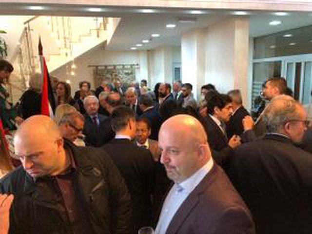 سفارة فلسطين بصربيا تحيي يوم التضامن مع شعبنا