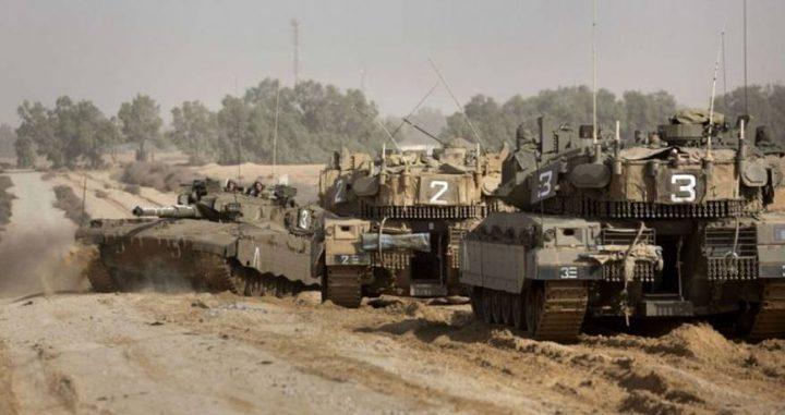 توغل محدود لآليات الاحتلال جنوب غزة