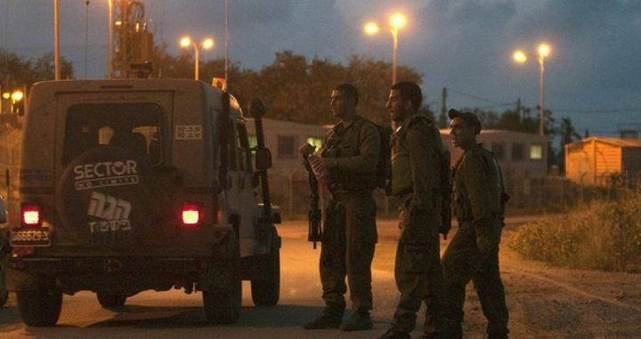 الاحتلال ينصب حاجزاً عسكرياً غرب سلفيت