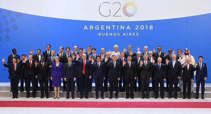 """بوتين يقترح استخدام منصة """"مجموعة العشرين"""""""