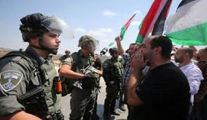 الاحتلال يقمع مسيرة تضامنية مع الأسيرة  جعابيص