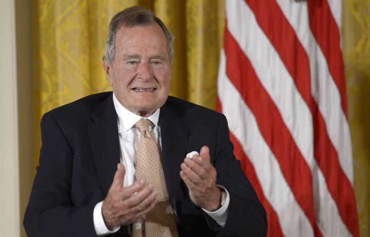وفاة الرئيس الأمريكي الأسبق جورج بوش الأب