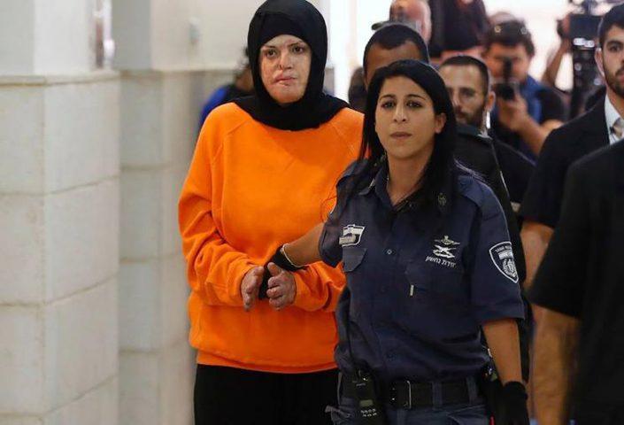 """الاحتلال يقمع مسيرة تضامنية مع الأسيرة """"جعابيص"""""""