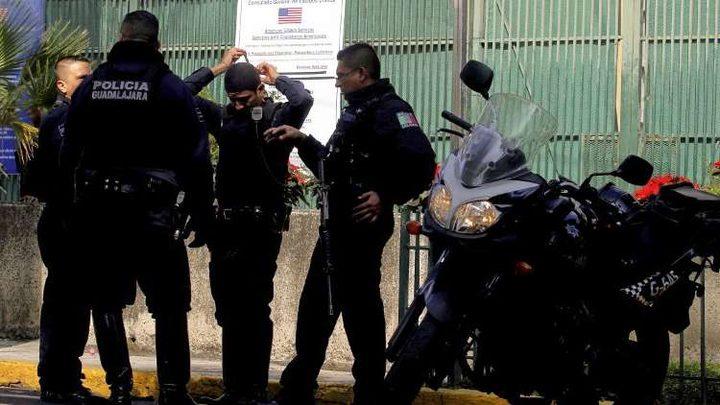 قنصلية أمريكية في المكسيك تتعرض لحادث أمني