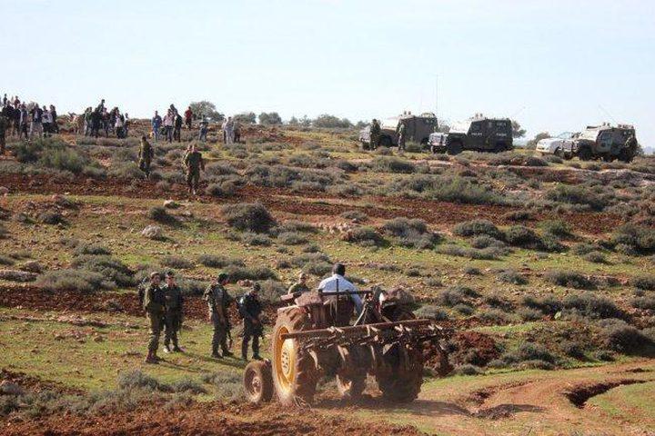 الاحتلال يستولي على مسكن زراعي جنوب نابلس