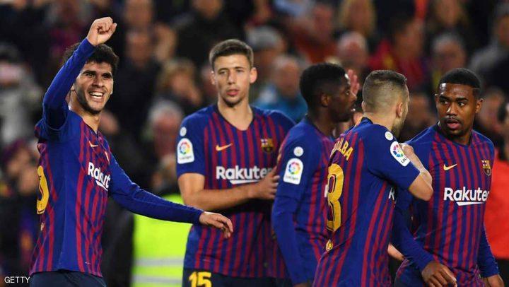 برشلونة يعود لصدارة الدوري الإسباني