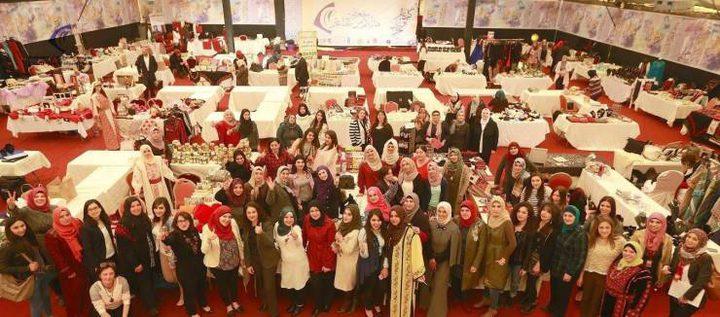 75 سيدة يعرضن منتجاتهن في المعرض الشتوي الثاني