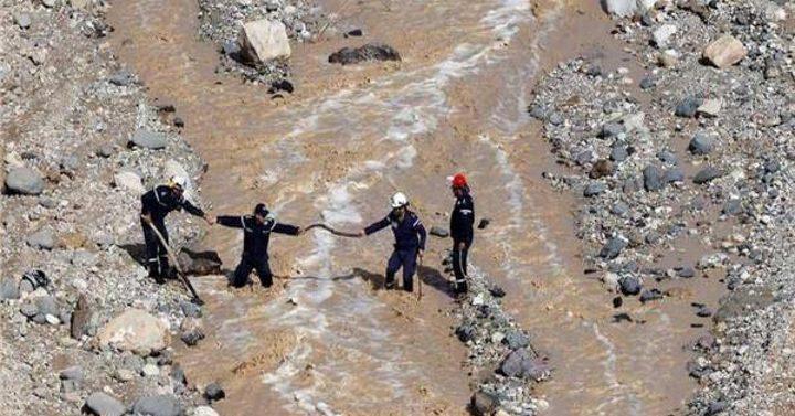 التقرير النهائي لحادثة البحر الميت