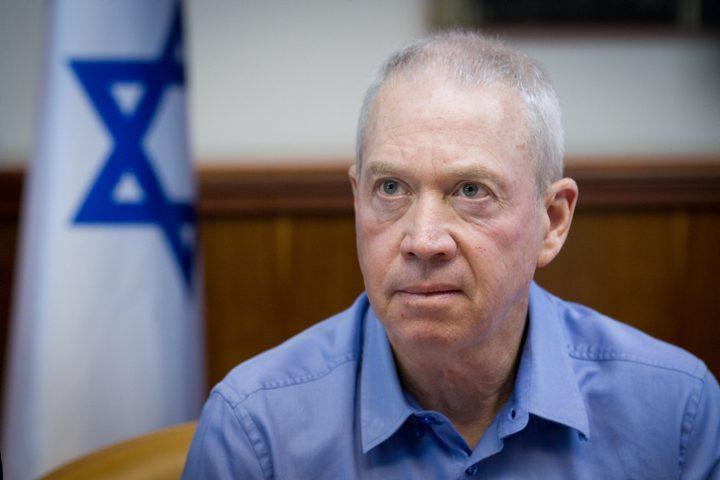 """غالانت: """"سنوجه ضربة عسكرية موسعة لقطاع غزة"""""""