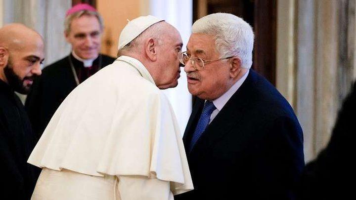 بابا الفاتيكان يدعو للحفاظ على هوية القدس