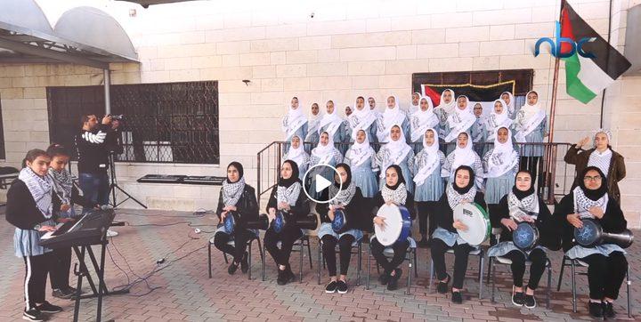 مركز إعلام النجاح يتبنى كورال مدرسة القادسية