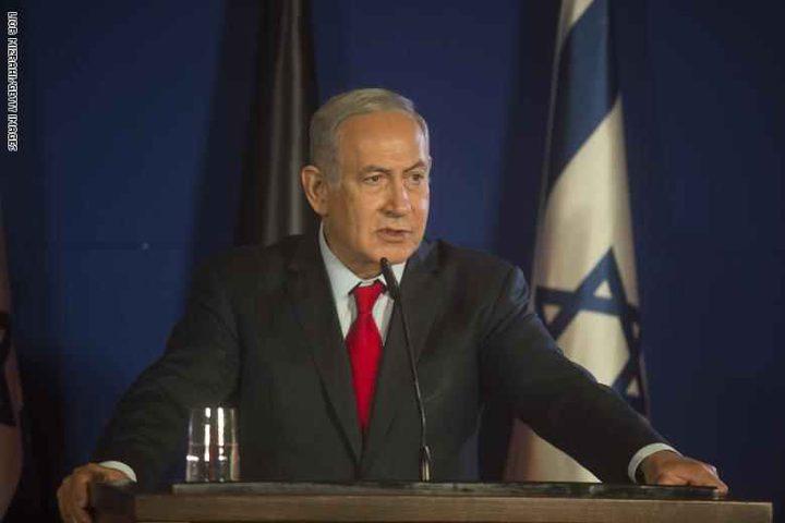 نتنياهو:  العملية في شمال فلسطين المحتلة ستستمر