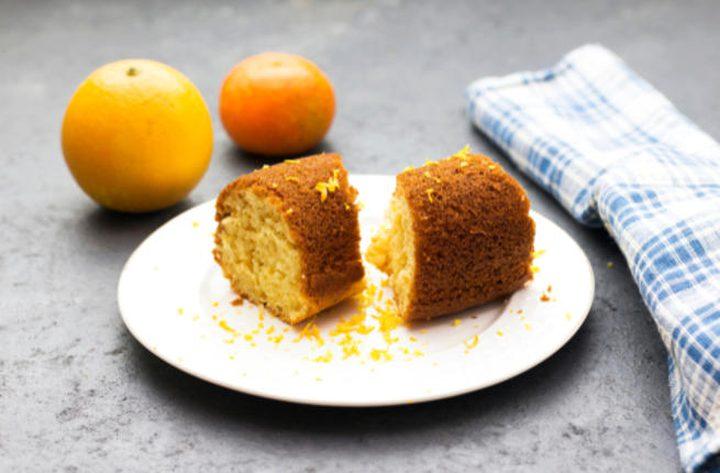 طريقة عمل كيك البرتقال الصيامي