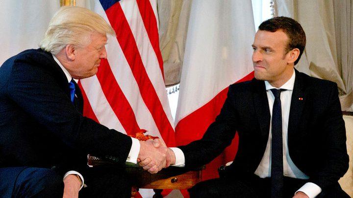 الرئاسة الفرنسية تتجاهل الرد على تغريدة ترامب