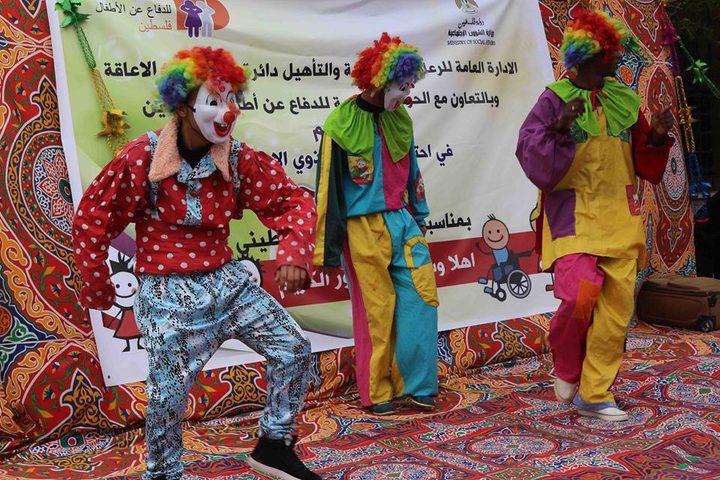 احتفال بيوم المعاق العالمي في طوباس